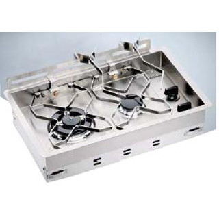 Dickinson 00-2BP 2 Burner Drop-In LPG Stove Top