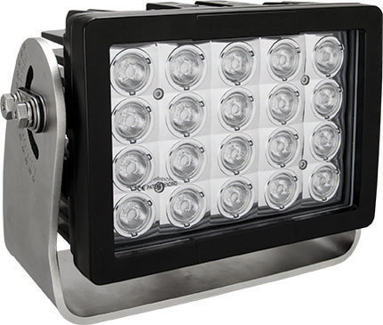 Imtra Offshore 20-LED Marine Deck Light, DC, 140W, 10°