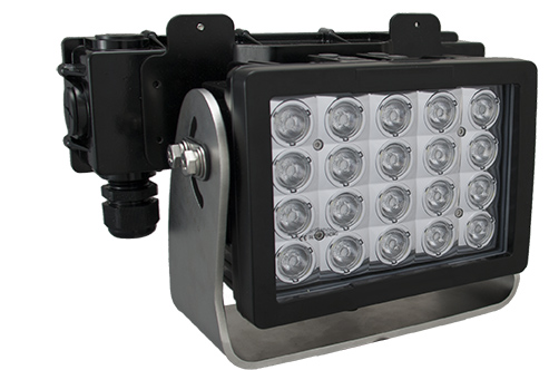 Imtra Offshore 20-LED Marine Deck Light, AC, 140W, 10°