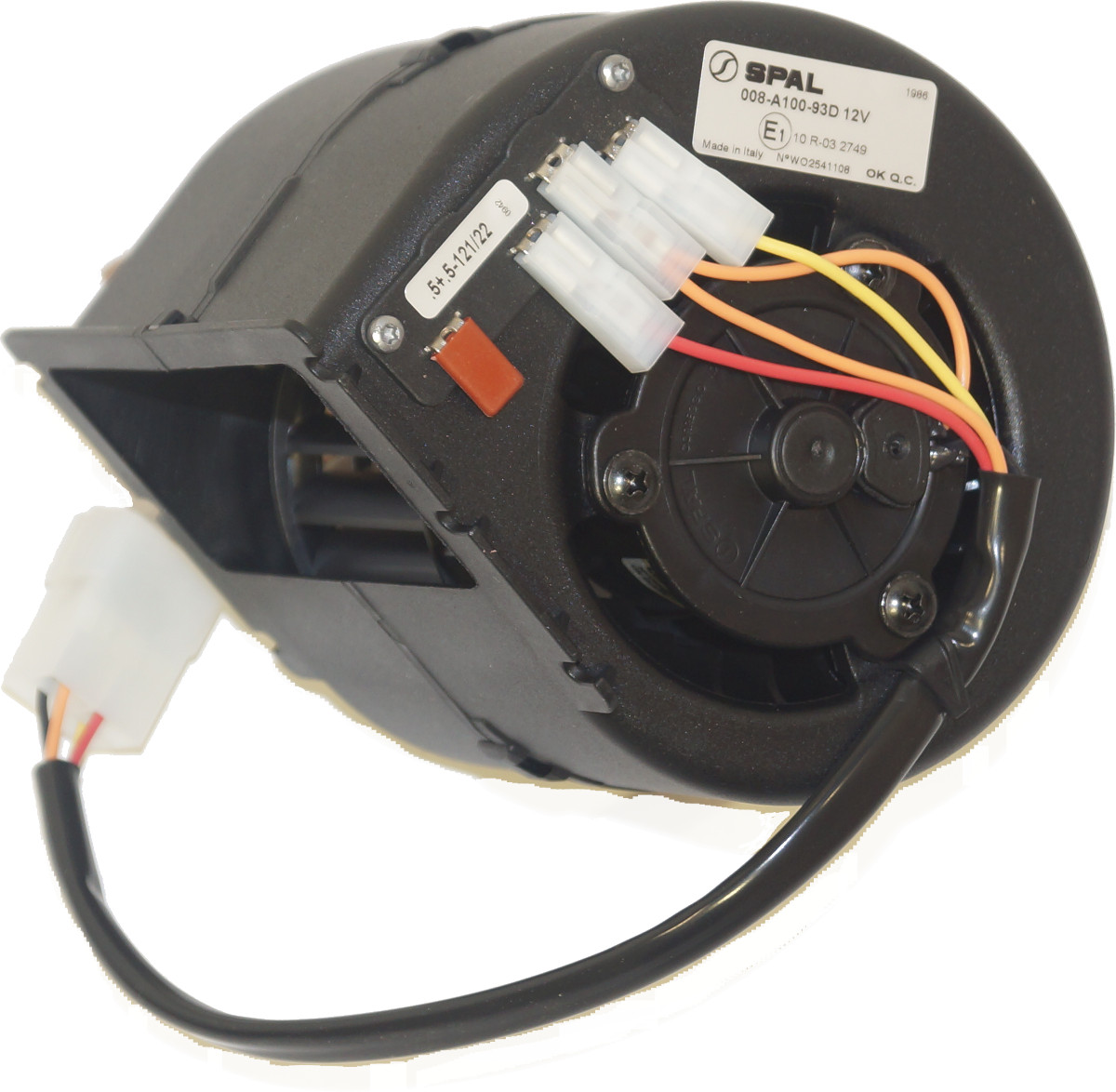 Low Profile Blower : Spal low profile speed blower volt