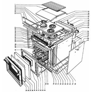 Seaward Replacement Parts Models 3142 Amp 3342