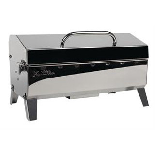 Kuuma 58130 Stow and Go BBQ 160 Stainless Marine Grill