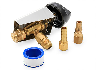 58268 Valve Kit, Low Pressure, 3/8 SAE x 9,000 BTU Quick-Connect