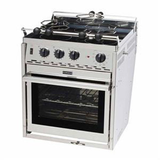 Force10 65335 3 Burner Electric Galley Range, 120 Volt