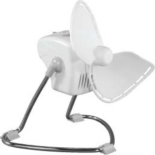 Caframo MODEL 707 White Chinook 120 Volt Fan