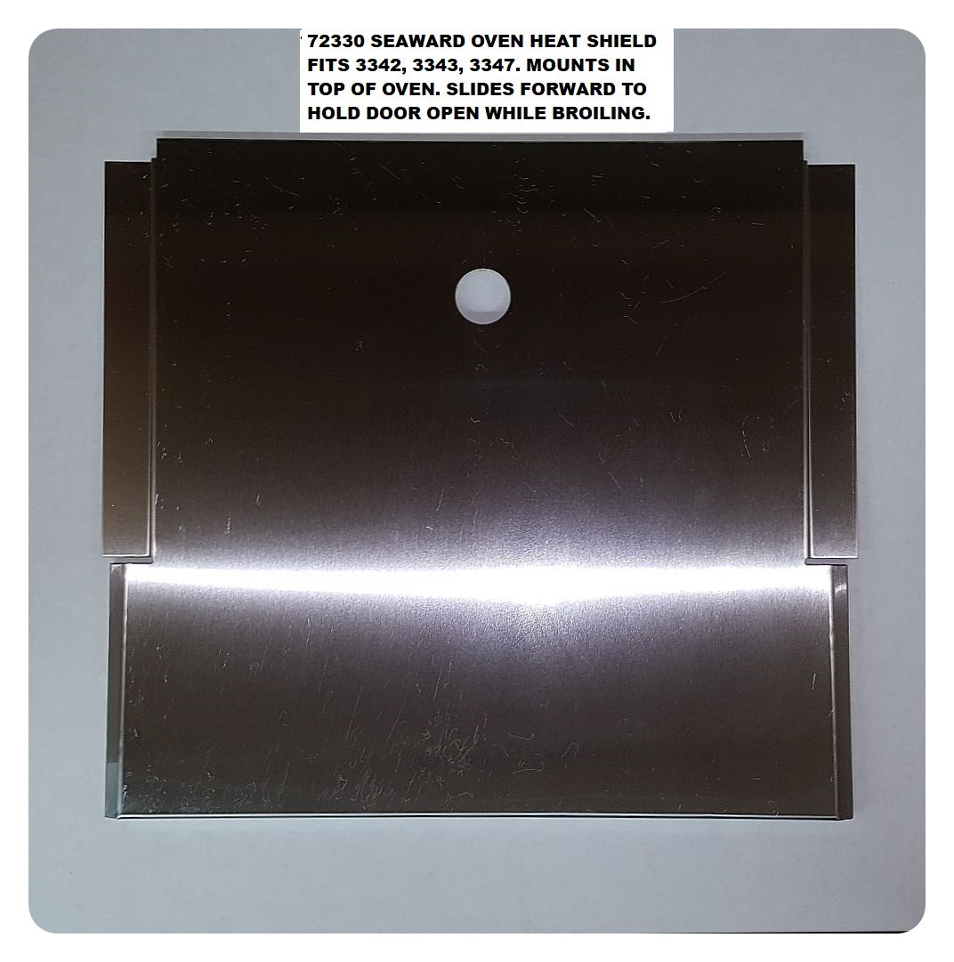 72330 Broil Deflector 3Br. Seaward Repair Part by Whale Marine