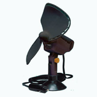 Caframo MODEL 747-BLACK Finger Safe Ultimate 12Volt Fan