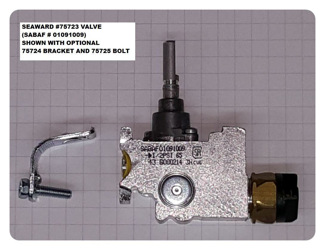SABAF GAS VALVE, DROP-IN
