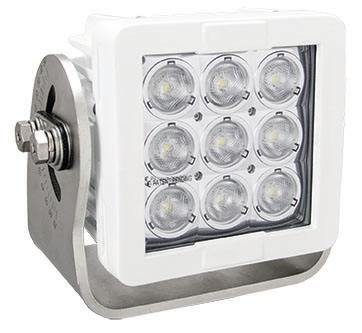 Imtra Offshore 9-LED Marine Deck Light, DC, 63W, 10°