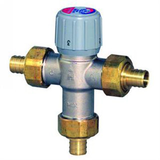 Honeywell AM100-UPEX-1 Sparco Thermostatic Mix Valve, 1/2