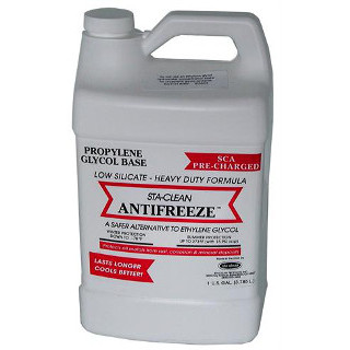 Ethylene Glycol Antifreeze >> Sta Clean Antifreeze Propylene Glycol Low Silicate Sca Precharged