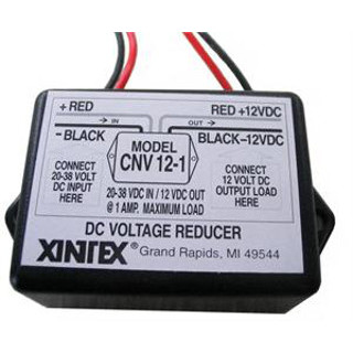 CNV-12-1 Fireboy Xintex 12 VDC to 24 VDC (or 32 VDC) Voltage Converter