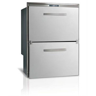 DW180IXP4-ES-1 5.1 cf AC/DC Double S/S Drawer Refrigerator Surface