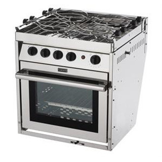 Force10 63453 4 Burner Gimballed Galley Range North American Compact