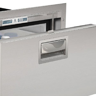 DW100RXP4-EF-2 3.3 cf AC/DC Single S/S Drawer Refrigerator Flush Mount