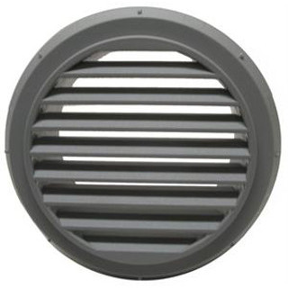 Webasto 9012287A High temperature 90mm threaded White Grille