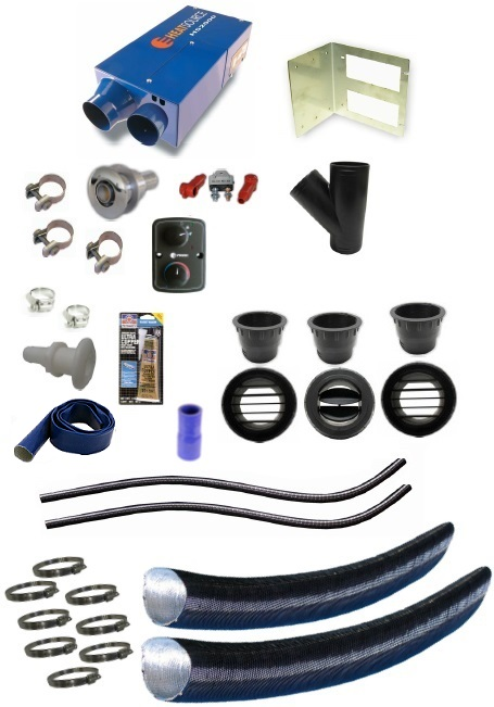 Propex HeatSource Deluxe HS2000 6,500 BTU Marine Heating Kit
