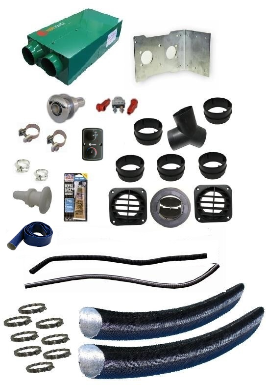 Propex HeatSource Deluxe HS2800 10,000 BTU Marine Heating Kit