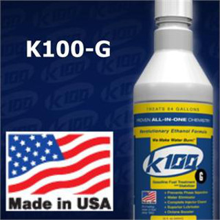 K100-G 32 oz. Gas Fuel Treatment