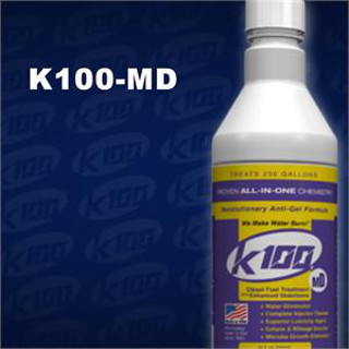 K100-MD 32 oz. Diesel Fuel Treatment with Enhanced Stabilizers