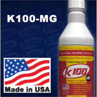 K100-MG 32 oz. Gas Fuel Treatment with Enhanced Stabilizers