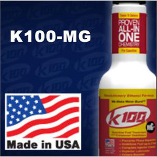 K100-MG 8 oz. Gas Fuel Treatment with Enhanced Stabilizers