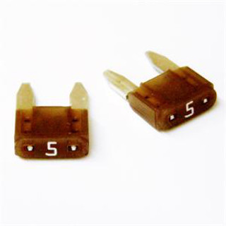Camco 65141 5 Amp Mini Blade ATM Fuse - 2 Pack