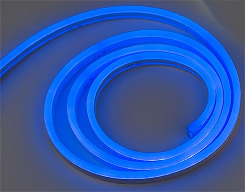 Ileml Bl 120led Neon Led Rope Light Top Emitting Blue 120v