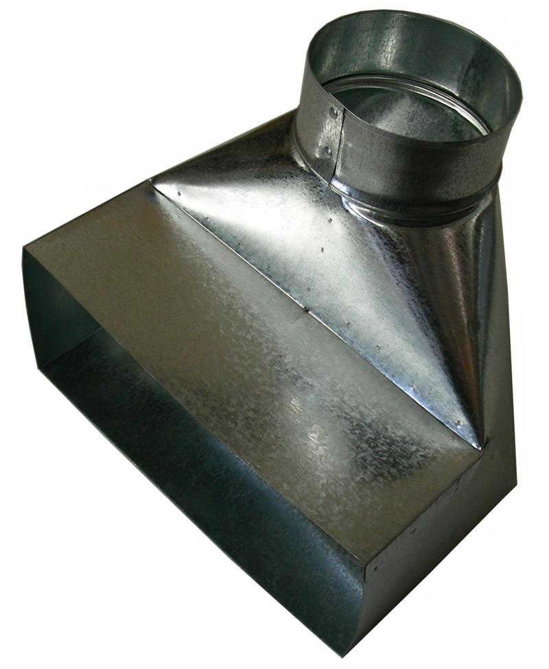 P 1341 High Temperature 4 Quot X 10 Quot Duct Boot For 4 Quot Ducting