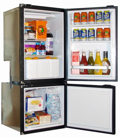 Nova Kool Rfu6200 6 Cu Ft Ac Dc Two Door Refrigerator