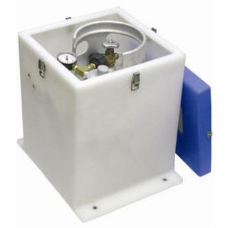 RL93271 REAL 10# 2.5 Gallon Propane Tank Locker Kit by Sure Marine