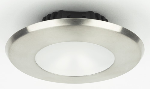 ILIM32121 Sigma Large PowerLED, Brushed Stainless Steel,