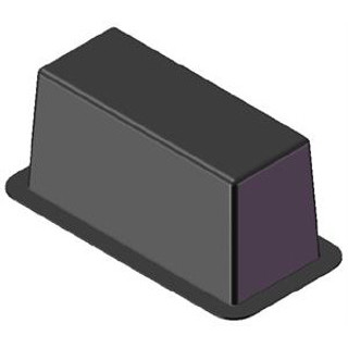 "MSI TB105 Air Conditioner Transition Box 10/"" x 5/"""
