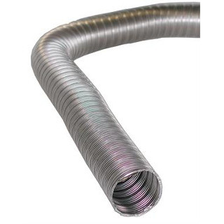 W337-390 22mm Stainless steel flexible exhaust
