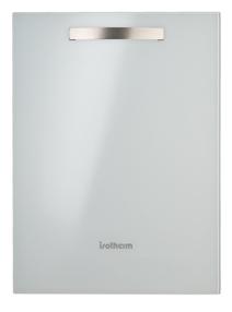 Isotherm Drawer 65 Glass WHT 2 3 CU FT AC/DC Refrigerator w/Freezer