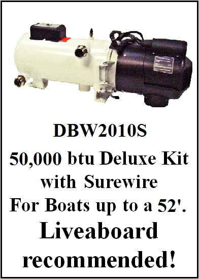 DBW2020 Deluxe Heater Kit Pricing