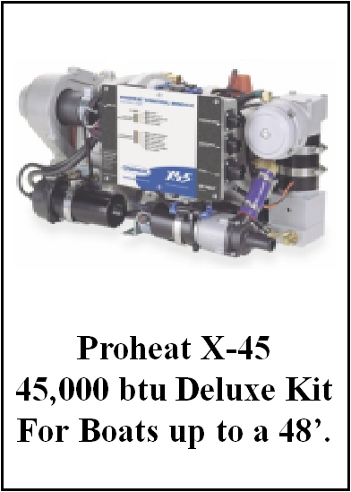Proheat X-45 Deluxe Heater Kit