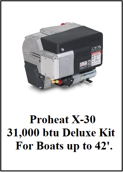 Proheat X30 Deluxe Heater Kit